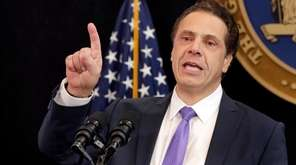 Gov. Andrew M. Cuomo said on Monday, April