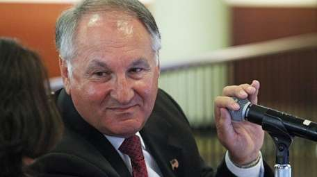 Nassau County Comptroller George Maragos seen here on