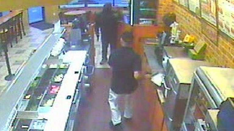 Police say surveillance video captured a robbery at