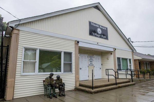 Mastic Beach Village Hall is seen on Oct.