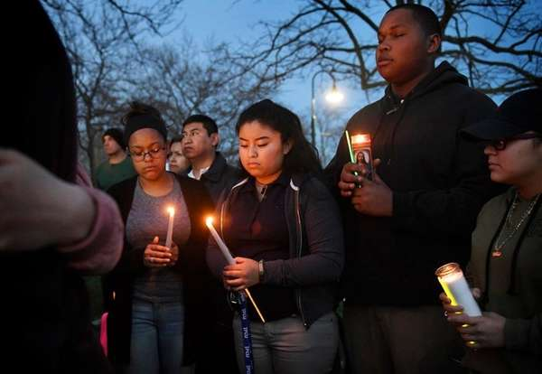 Funeral held for NY teen slain in suspected gang violence