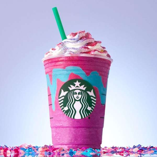 Starbucks debuted its limited-time Unicorn Frappuccino on Wednesday,