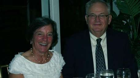 Christine Brakel and her husband, James Wegrzyn, of