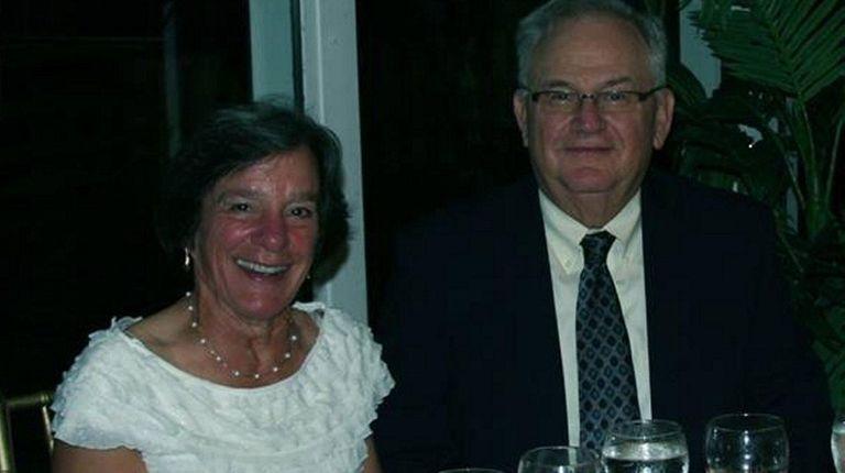 Christine Brakel and her husband, James Wegrzyn, of