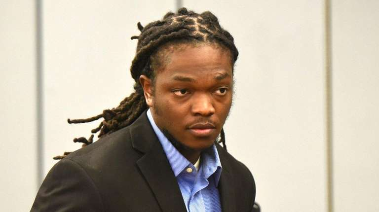 Oneil Sharpe Jr. attends his sentencing at State