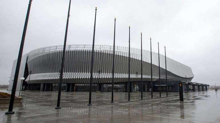The grand opening of the renovated Nassau Coliseum