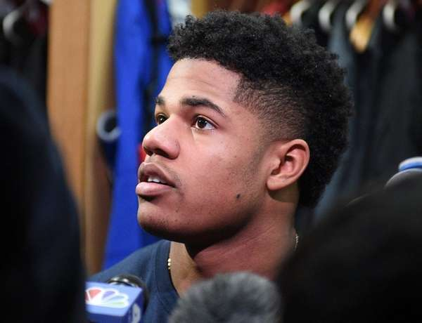 New York Giants wide receiver Sterling Shepard answers