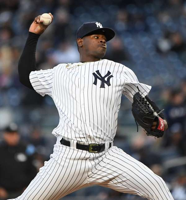 Luis Severino struck out 10 but gave up
