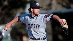 Smithtown West's Nick Trabacchi threw a three-hit shutout