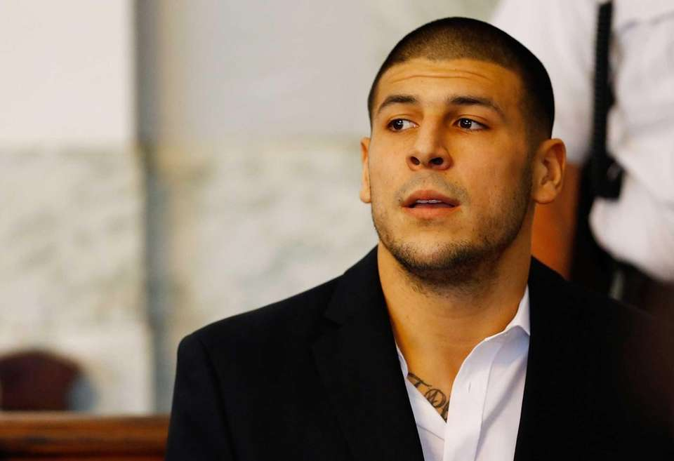 Hernandez, the former New England Patriots tight end