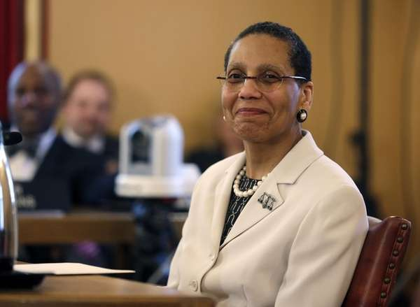 Justice Sheila Abdus-Salaam in April 2013 in Albany.
