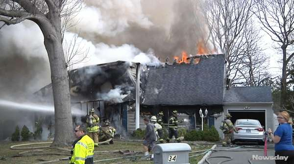 Authorities are investigating a morning fire engulfed a