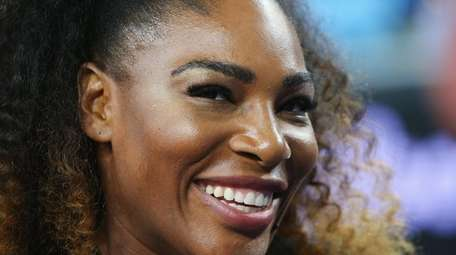 Serena Williams posted a pregnant selfie on Snapchat.