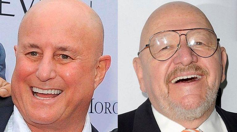 Ron Perelman, left, and Jerry Della Femina have