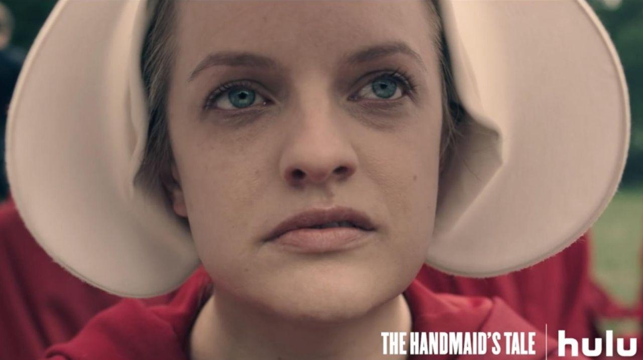 "Elisabeth Moss stars in Hulu's ""The Handmaid's Tale,"""