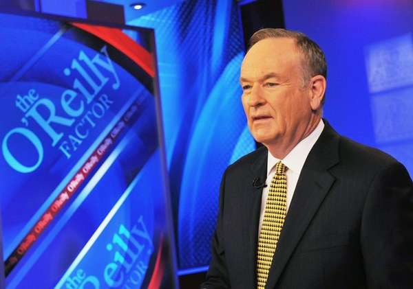Bill O'Reilly, now the former host of Fox's