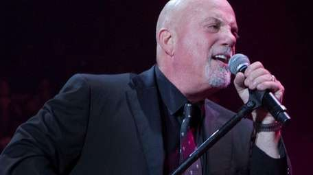 The 45th show of Billy Joel's Madison Square