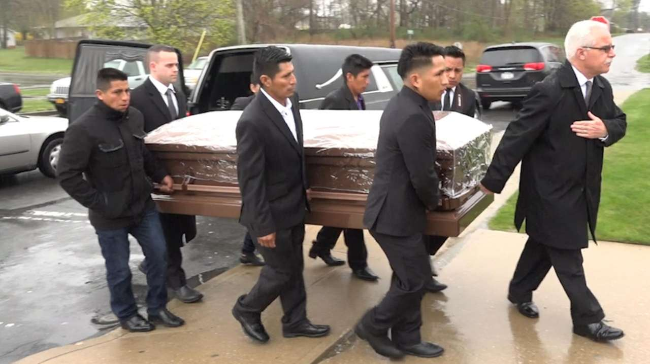 Funeral services for Michael Lopez Banegas and Jorge