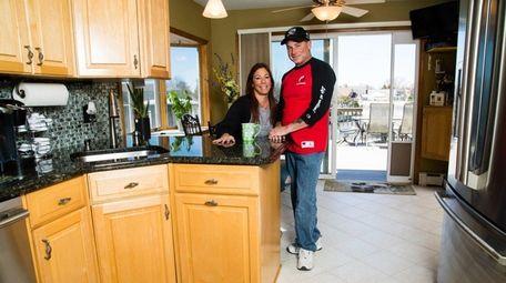 Amy Behrens, 53, and her husband Jeffrey Behrens,