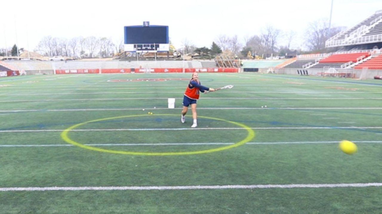 Stony Brook University's women's lacrosse team is having