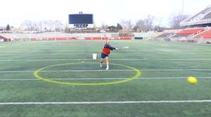 Stony Brook University's women's lacrosse team is having