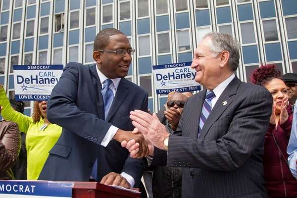 Nassau Comptroller and candidate for county executive George