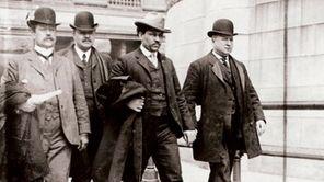 Joseph Petrosino, far right, a detective dubbed