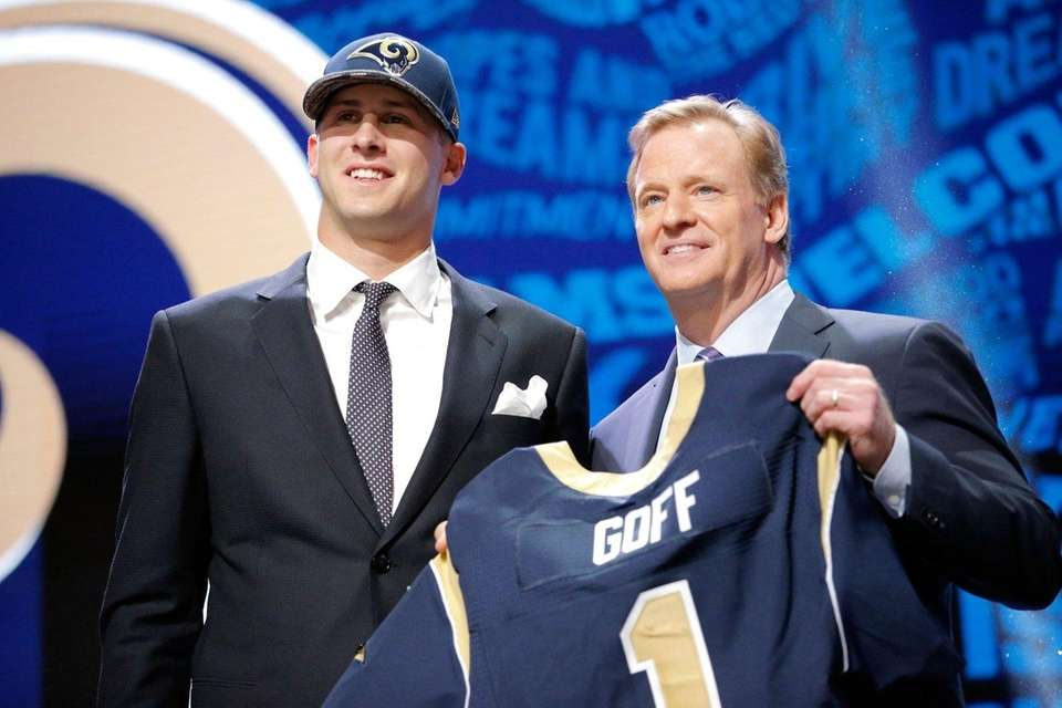 2016: JARED GOFF Draft: 1st round, No. 1