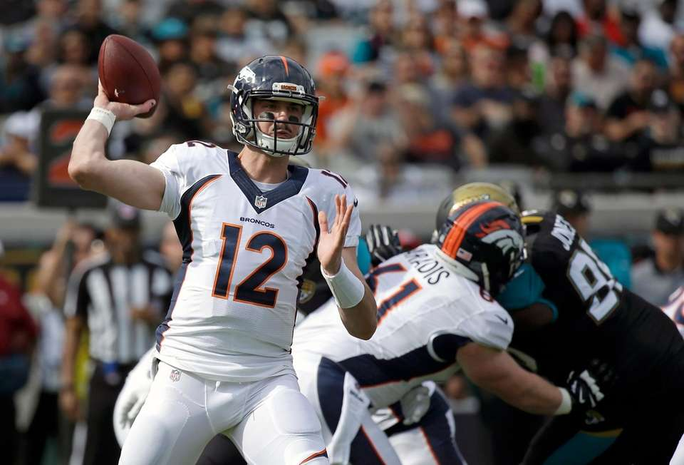 2016: PAXTON LYNCH Draft: 1st round, No. 26