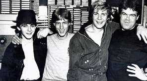 Duran Duran comes to WLIR studios on Fulton