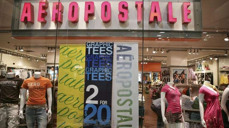 Clothing retailer Aéropostale has clung to life after