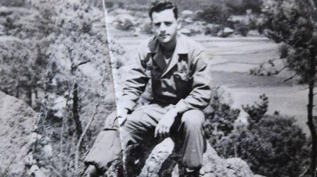 Buddy Epstein in Korea. He was 20 years