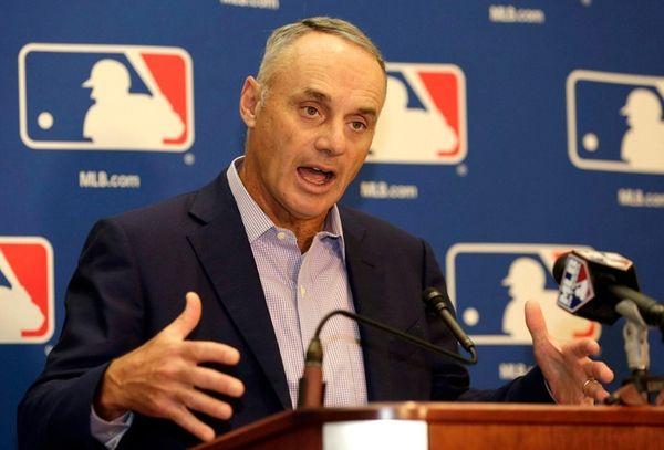 MLB Commissioner Rob Manfred on Feb. 3, 2017,