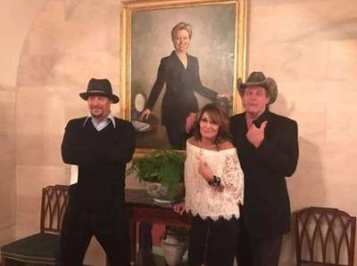 Sarah Palin, Kid Rock and Ted Nugent visited