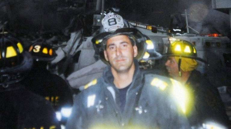 Handout photo of NYC firefighter William Tolley, provided