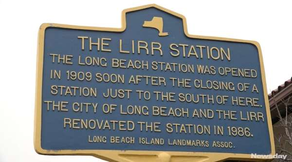 Long Island Rail Road officials led a media tour on