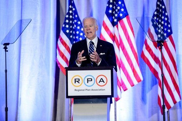 Former Vice President Joe Biden speaks at the