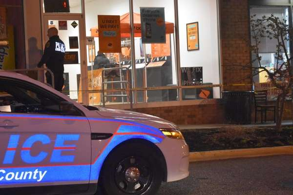 Suffolk County police responded to an armed robbery