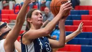 Oceanside's Jamie Behar has a step on South