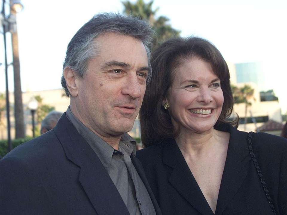 Actor Robert De Niro and film executive Sherry