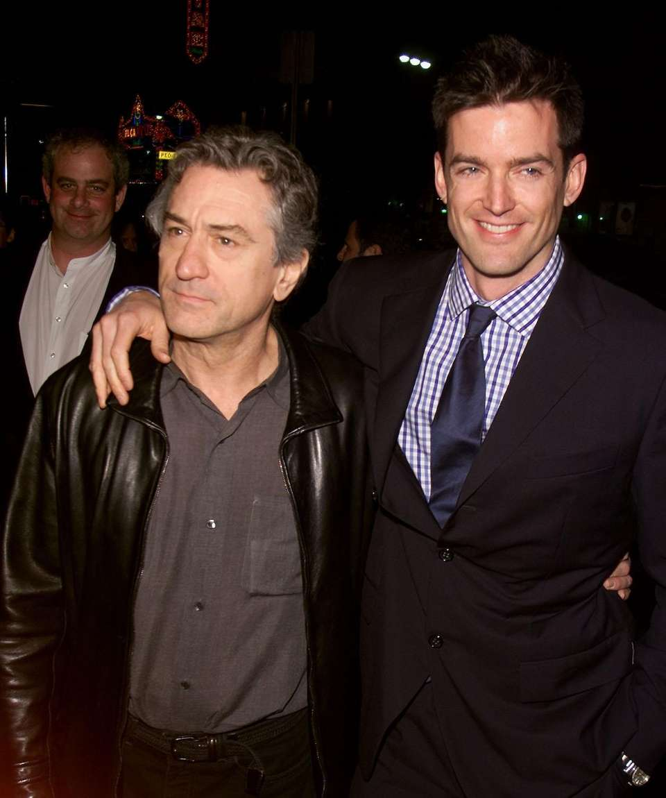 Actor Robert De Niro and film director Tom