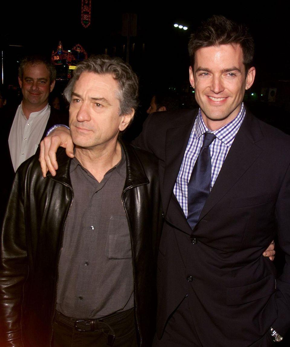 Actor Robert De Niro and film director Tom