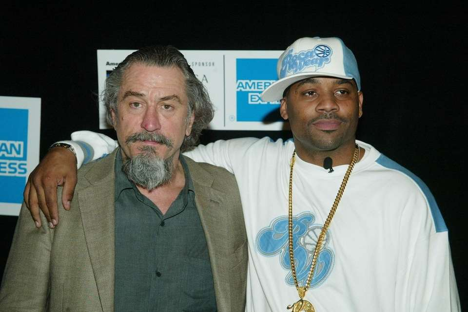 Actor Robert DeNiro and music producer Damon Dash