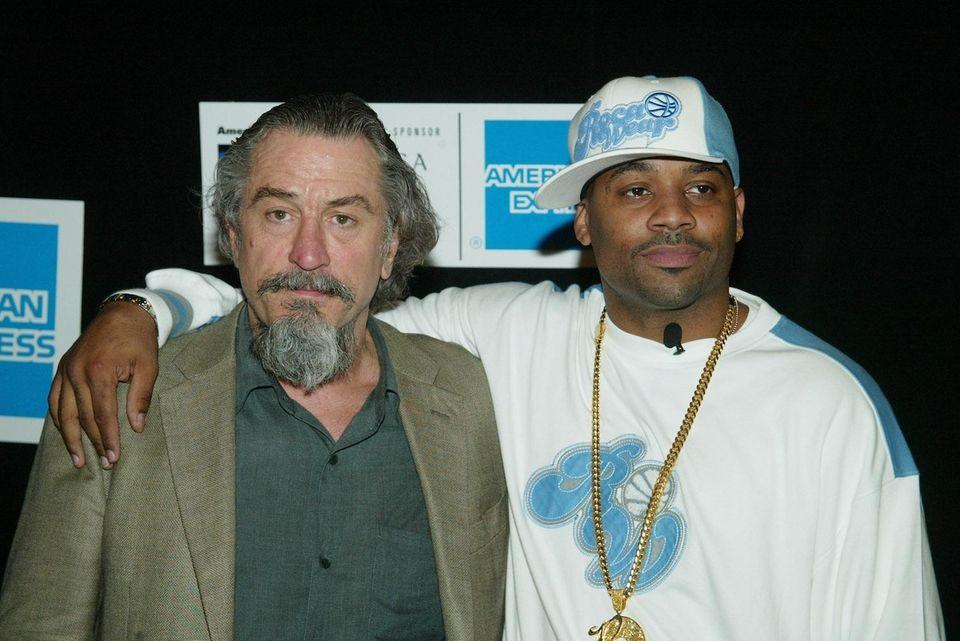 Actor Robert DeNiro and music producer Damon Dash