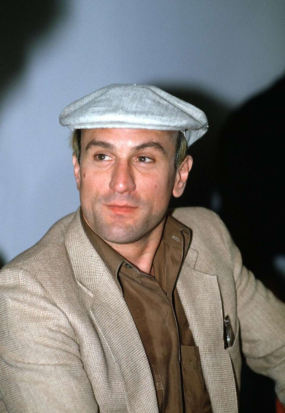 Actor Robert De Niro on May 7, 1983,