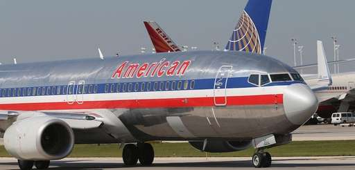 An American Airlines employee has been suspended after