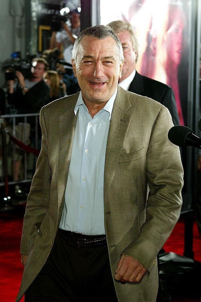 Robert De Niro attends the world premiere of