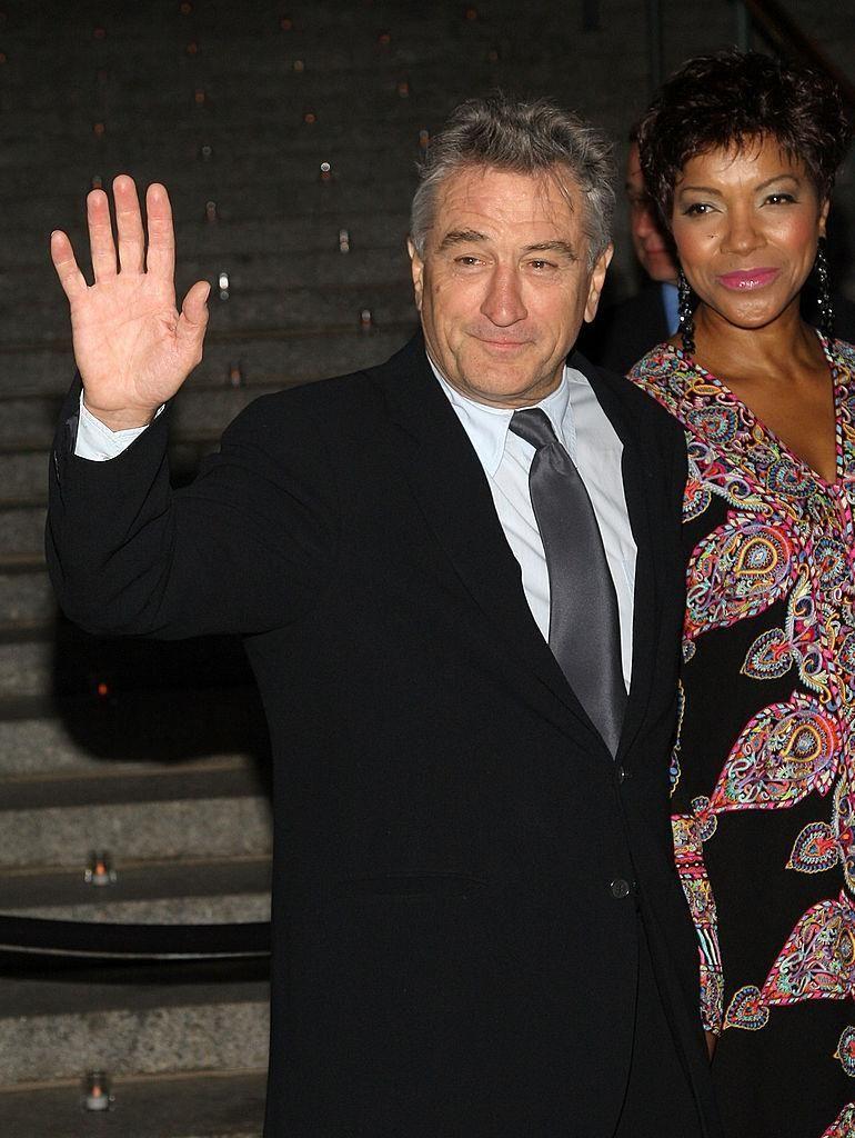 Robert De Niro and his wife, Grace Hightower,