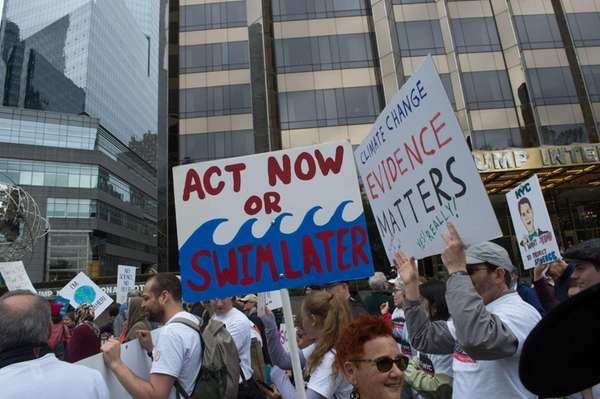 March for Science protesters stressed the need to
