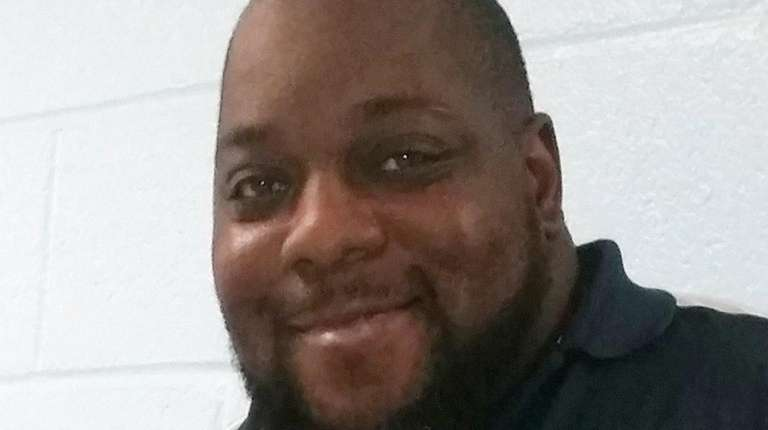 Dewitt McCall 43, of Bay Shore, a security